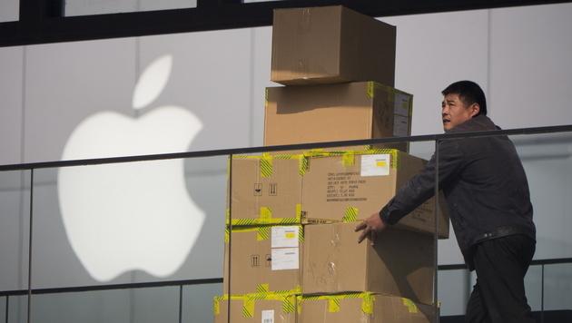 Apple expandiert mit neuen Shops nach China (Bild: EPA)