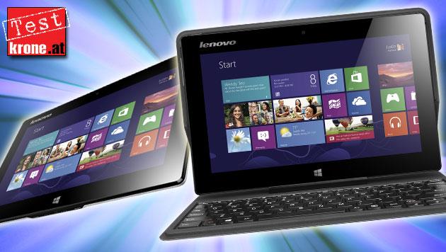 Lenovos Tablet, das gern ein Netbook wäre, im Test (Bild: Lenovo, thinkstockphotos.de, krone.at-Grafik)