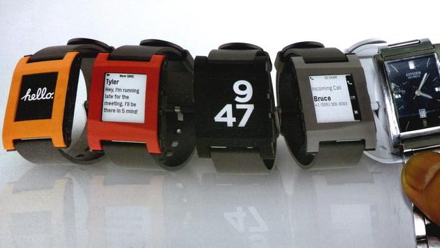 Neue Details zu Samsungs Smartwatch durchgesickert (Bild: EPA)