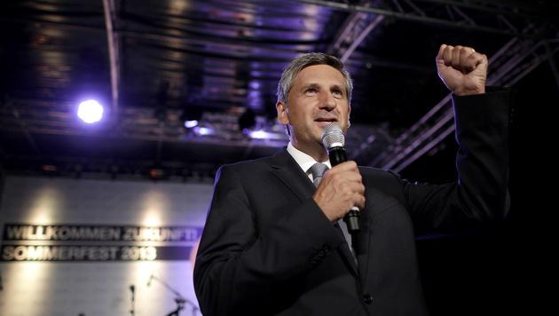 """Spindelegger für Wahlsieg """"wirklich motiviert"""" (Bild: APA/GEORG HOCHMUTH)"""