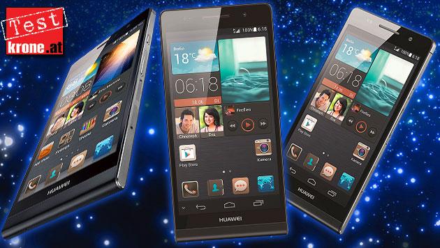 Das dünnste Handy der Welt im krone.at-Praxistest (Bild: Huawei, thinkstockphotos.de, krone.at-Grafik)