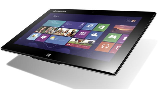 Lenovos Tablet, das gern ein Netbook wäre, im Test (Bild: Lenovo)