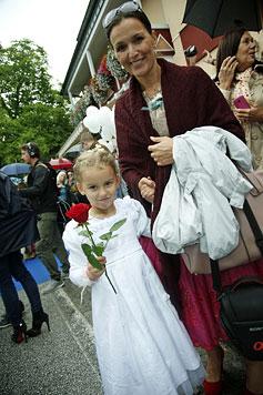 """Maximilian Schell und seine Iva haben """"Ja"""" gesagt (Bild: Reinhard Holl)"""