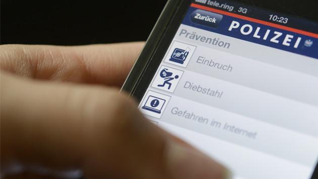 Polizei-App jetzt ohne umstrittene Leichenfotos (Bild: APA)