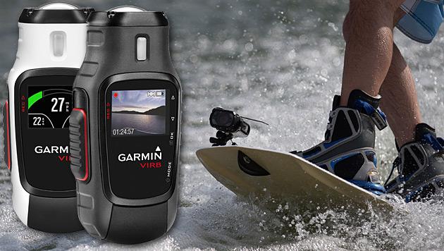 Garmin steigt ins Geschäft mit Actioncams ein (Bild: Garmin, krone.at-Grafik)