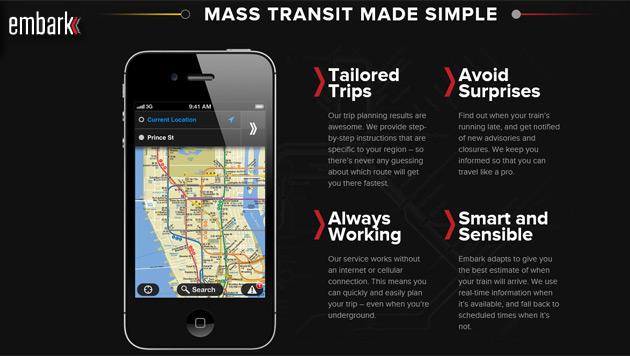 Apple kauft nächstes Start-up für Kartendienst (Bild: Screenshot Embark)