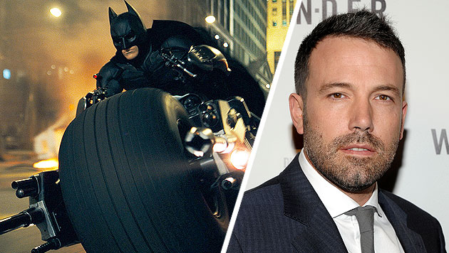 Ben Affleck ist der neue Batman (Bild: AP, krone.at-Grafik)