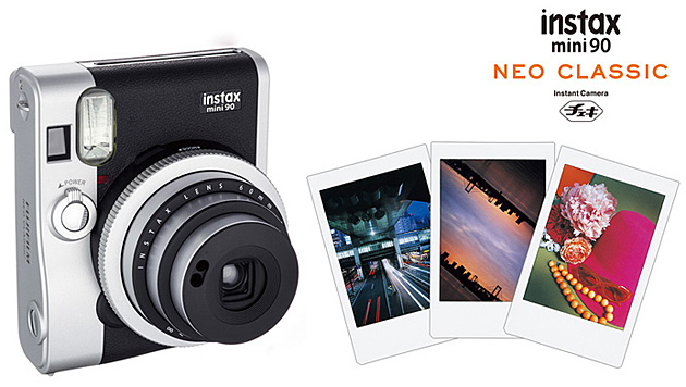 Instax Mini 90: Neue Sofortbildkamera von Fujifilm (Bild: Fujifilm)