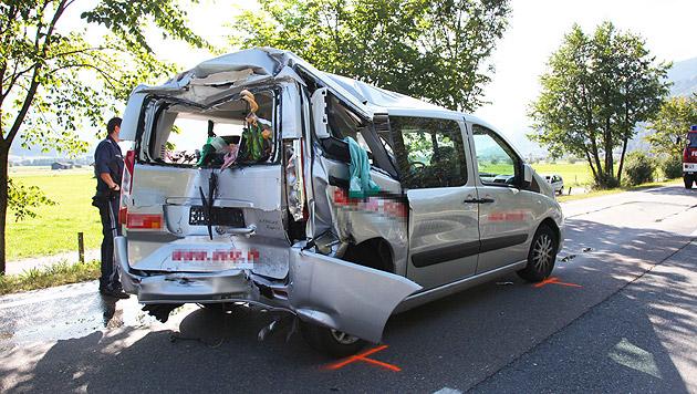 Neunjährige bei Auffahrunfall in Salzburg getötet (Bild: Niki Faistauer)