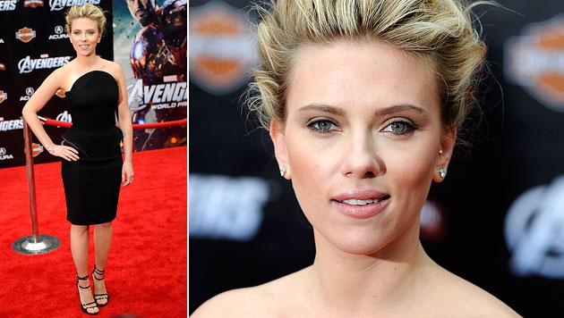 Scarlett Johansson trainiert wie ein echter Kerl (Bild: EPA)