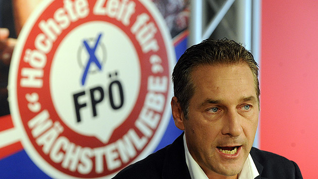 Strache fordert Konsequenzen für Gruppenmitglieder (Bild: APA/Herbert Pfarrhofer)