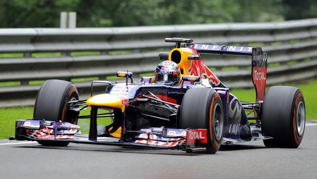 Vettel Tagesschnellster vor Kollege Webber (Bild: EPA)