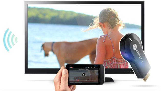 HDMI-Stick Chromecast kommt nach Europa (Bild: Google, krone.at-Grafik)