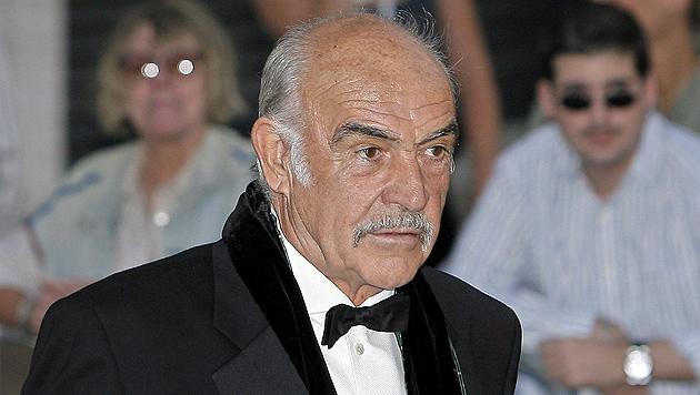 Sean Connery soll an Alzheimer erkrankt sein (Bild: EPA)