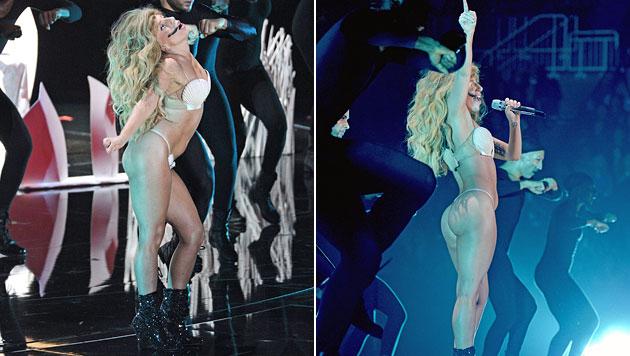 Viel nackte Haut bei den MTV Video Music Awards (Bild: AP, AFP)