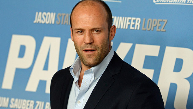 Action-Star Jason Statham beinahe ertrunken (Bild: EPA)