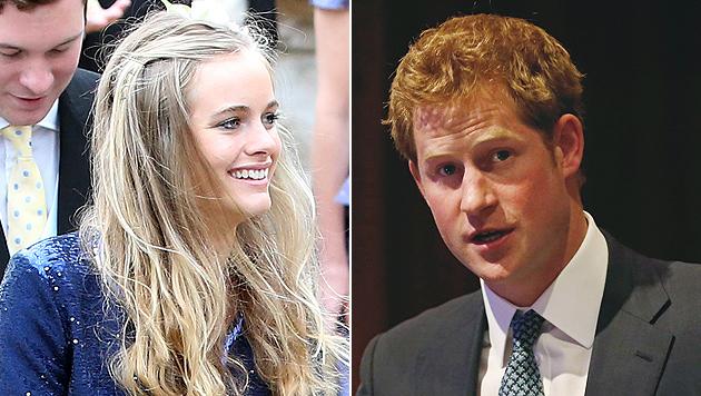 Prinz Harry soll Verlobung mit Cressida planen (Bild: AP)