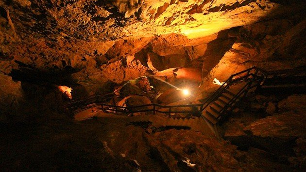 26 Personen aus Salzburger Höhle gerettet (Bild: Lamprechtshöhle)