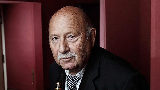 Jazz-Legende Hans Salomon liebt Sax und Frauen (Bild: silverserver.at)