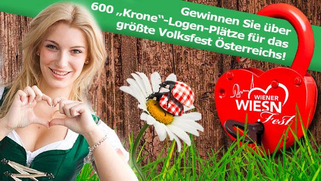 """Mit der """"Krone"""" zum größten Volksfest Österreichs! (Bild: Wiener Wiesn-Fest)"""