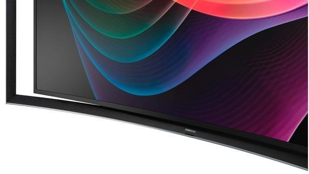 Scharfe Kurven: Die krummen OLED-Fernseher kommen (Bild: Samsung)