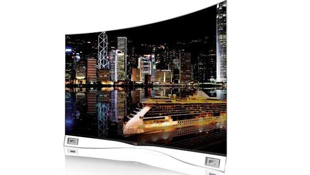 Scharfe Kurven: Die krummen OLED-Fernseher kommen (Bild: LG)