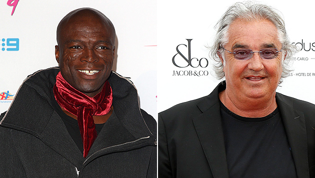 "Seal soll mit Klum-Ex Flavio Briatore ""packeln"" (Bild: EPA)"