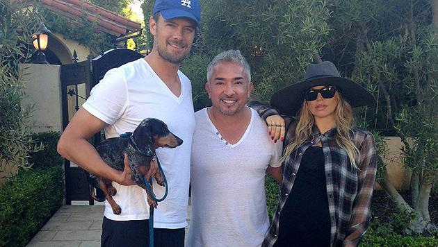 """Fergies Dackel """"Zoe"""" braucht einen Hundeflüsterer (Bild: Facebook)"""