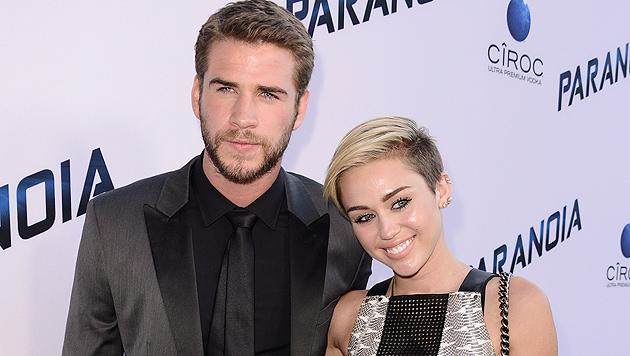 Miley Cyrus: Liebes-Aus wegen Nacktauftritt? (Bild: AP)