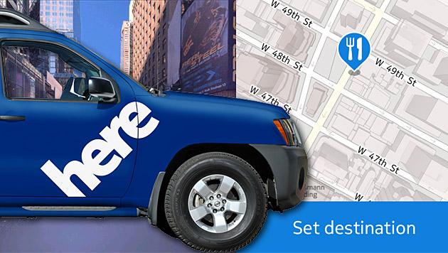 Nokia verbindet Auto mit der Cloud und dem Handy (Bild: Nokia, krone.at-Grafik)