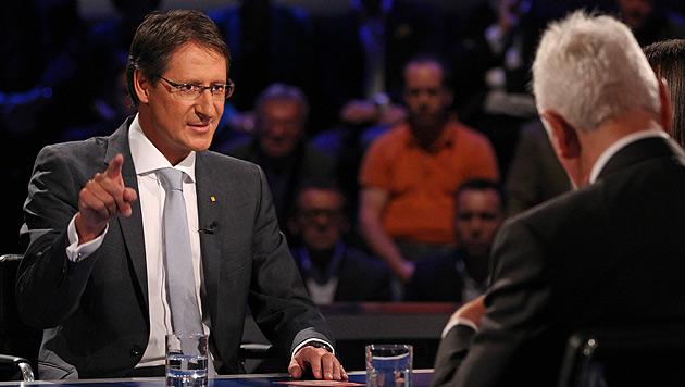 Stronach-Sieg gegen Bucher - aber nur bei Redezeit (Bild: ORF/Milenko Badzic)