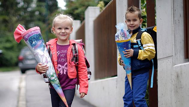 Kommt Fahrverbot rund um Schulen? (Bild: APA/GEORG HOCHMUTH (Symbolbild))