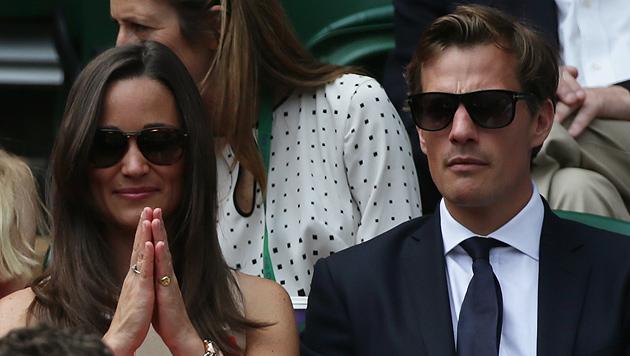 Kates Schwester Pippa Middleton soll verlobt sein (Bild: AP)