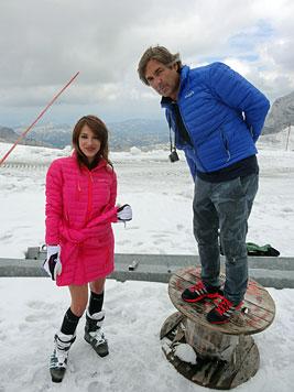 """Ex-""""Miss"""" Dagi posierte für Skilehrerinnenkalender (Bild: Hubertus von Hohenlohe)"""