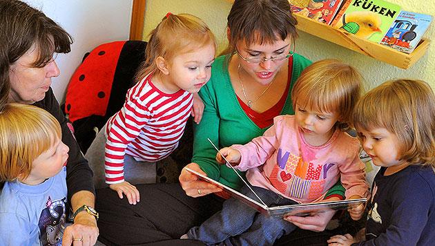 Jedes vierte Kindergartenkind hat Förderbedarf (Bild: dpa)