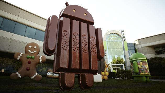 Nächstes Android trägt Namen von Schokoriegel (Bild: AP)