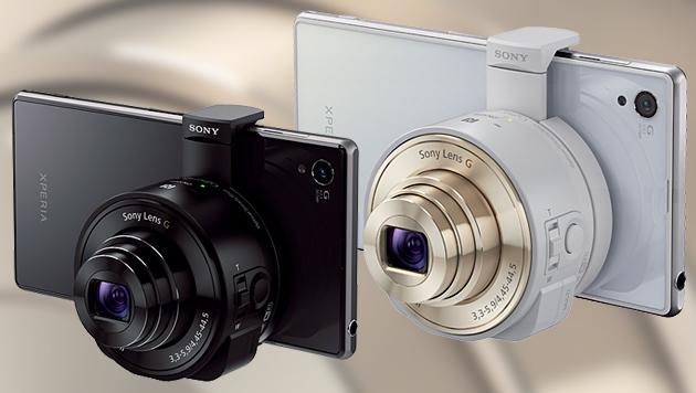 Sony kündigt Objektive fürs Smartphone an (Bild: Sony, krone.at-Grafik)