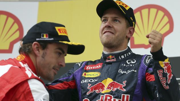 Vettel will Ferrari das Heimrennen vermiesen (Bild: AP)