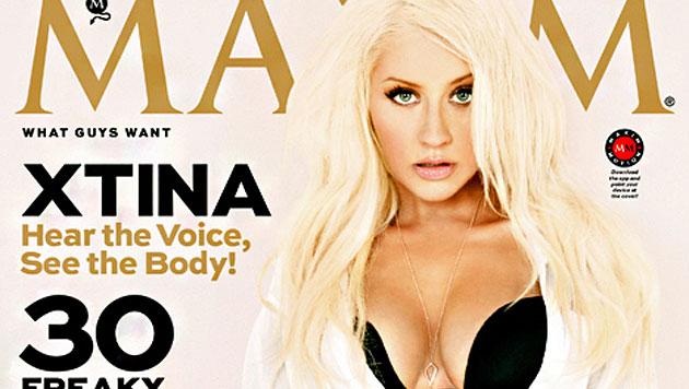 Aguilera zeigt heiße Kurven und plaudert über Sex (Bild: Maxim)