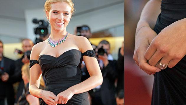 Hollywoodstar Scarlett Johansson ist schwanger (Bild: AP)