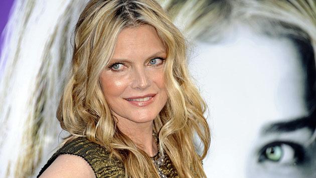 Michelle Pfeiffer hat kein Problem mit dem Alter (Bild: EPA)