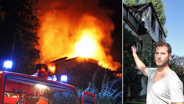 """Saniertes Haus brannte: """"Jetzt war alles umsonst"""" (Bild: Andi Schiel)"""