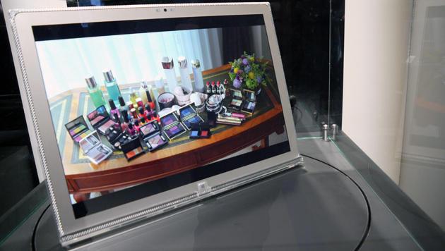 IFA: Panasonics 4K-Riesentablet ausprobiert (Bild: Dominik Erlinger)