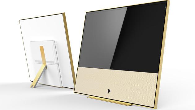 Loewe zeigt luxuriösen Gold-Fernseher auf der IFA (Bild: Loewe)