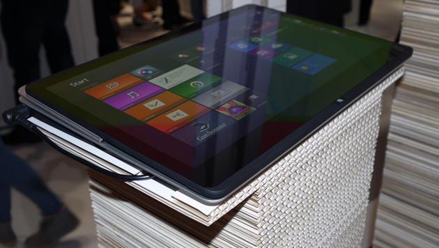 IFA: Ein erster Blick auf Sonys neue Touch-Vaios (Bild: Dominik Erlinger)