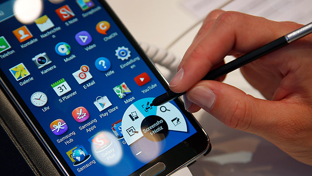 NSA hat auch Zugriff auf Smartphone-Daten (Bild: AP)