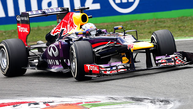 """Vettel krönt sich zu Formel-1-""""König"""" von Monza (Bild: EPA)"""