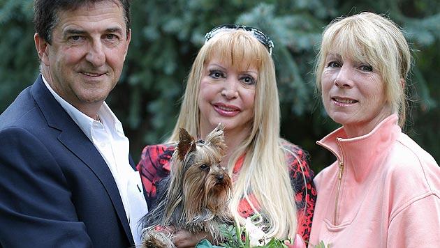 Frau rettet Hund durch Herzmassage und Beatmung (Bild: Gerhard Bartel)