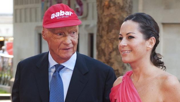 """Spontan-Besuch von Lauda bei """"Rush""""-Premiere (Bild: EPA)"""
