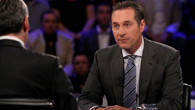 Strache-Angriffe perlten an Spindelegger ab (Bild: ORF)